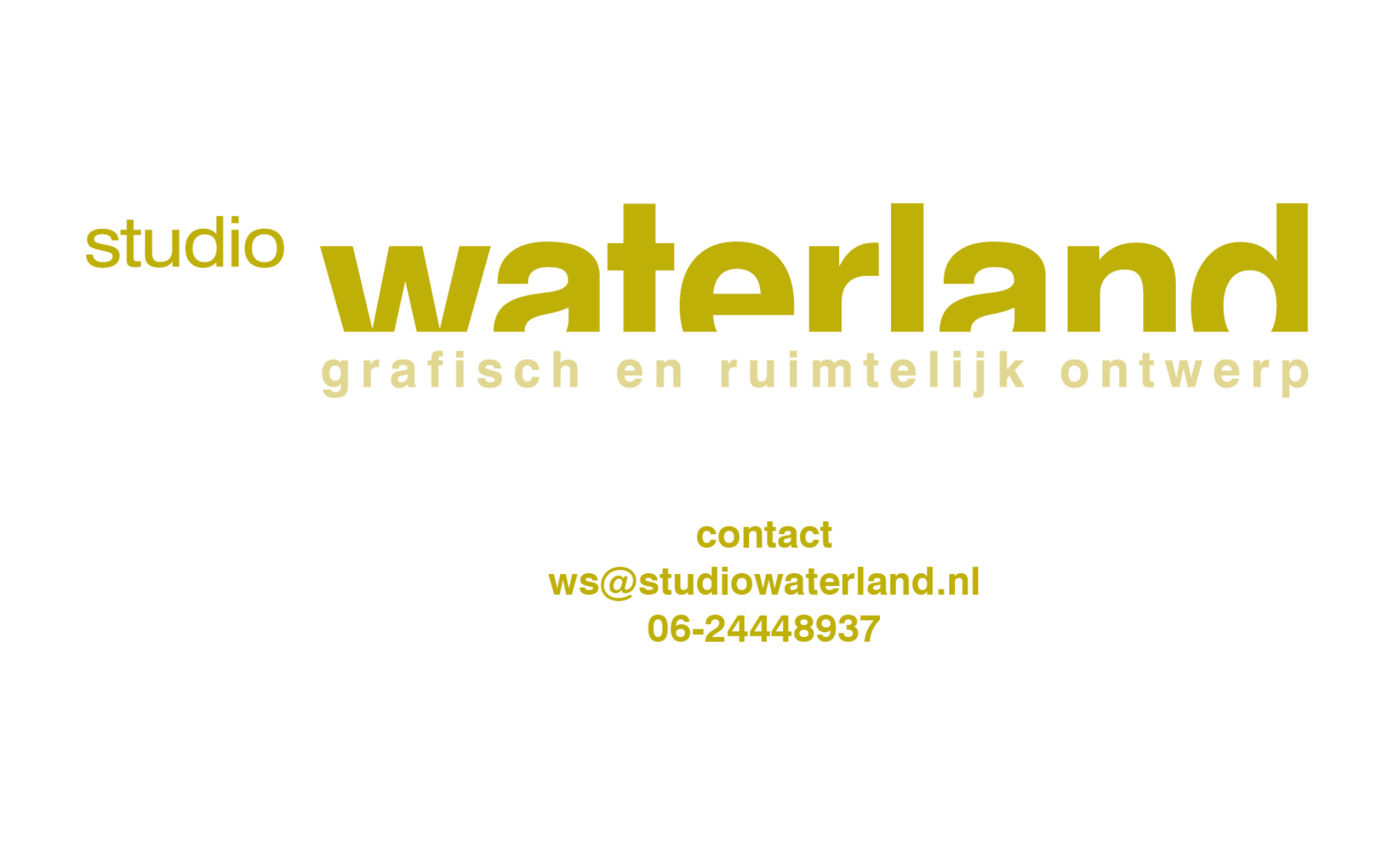 Studio Waterland